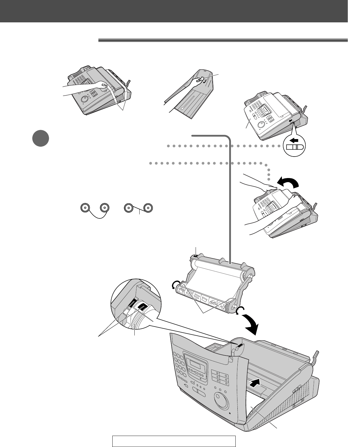 Page 4 of Panasonic Telephone KX-FM280 User Guide
