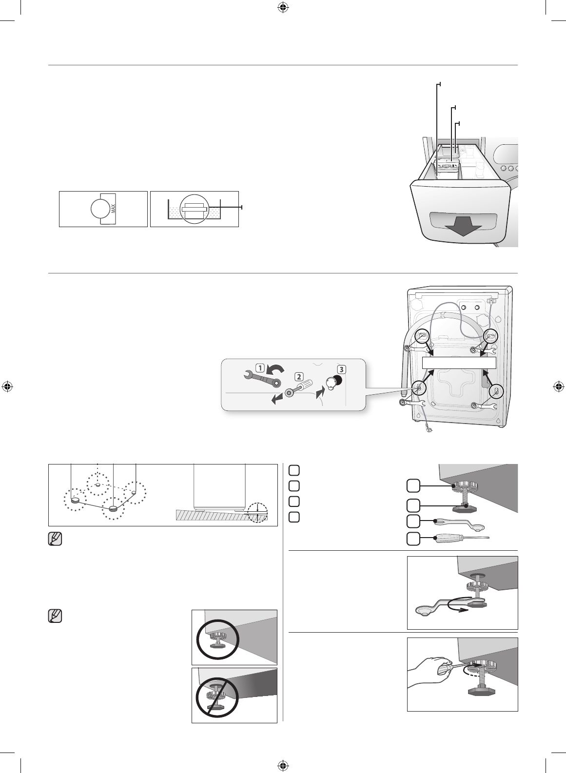 Page 2 of Samsung Washer WF438AAR User Guide