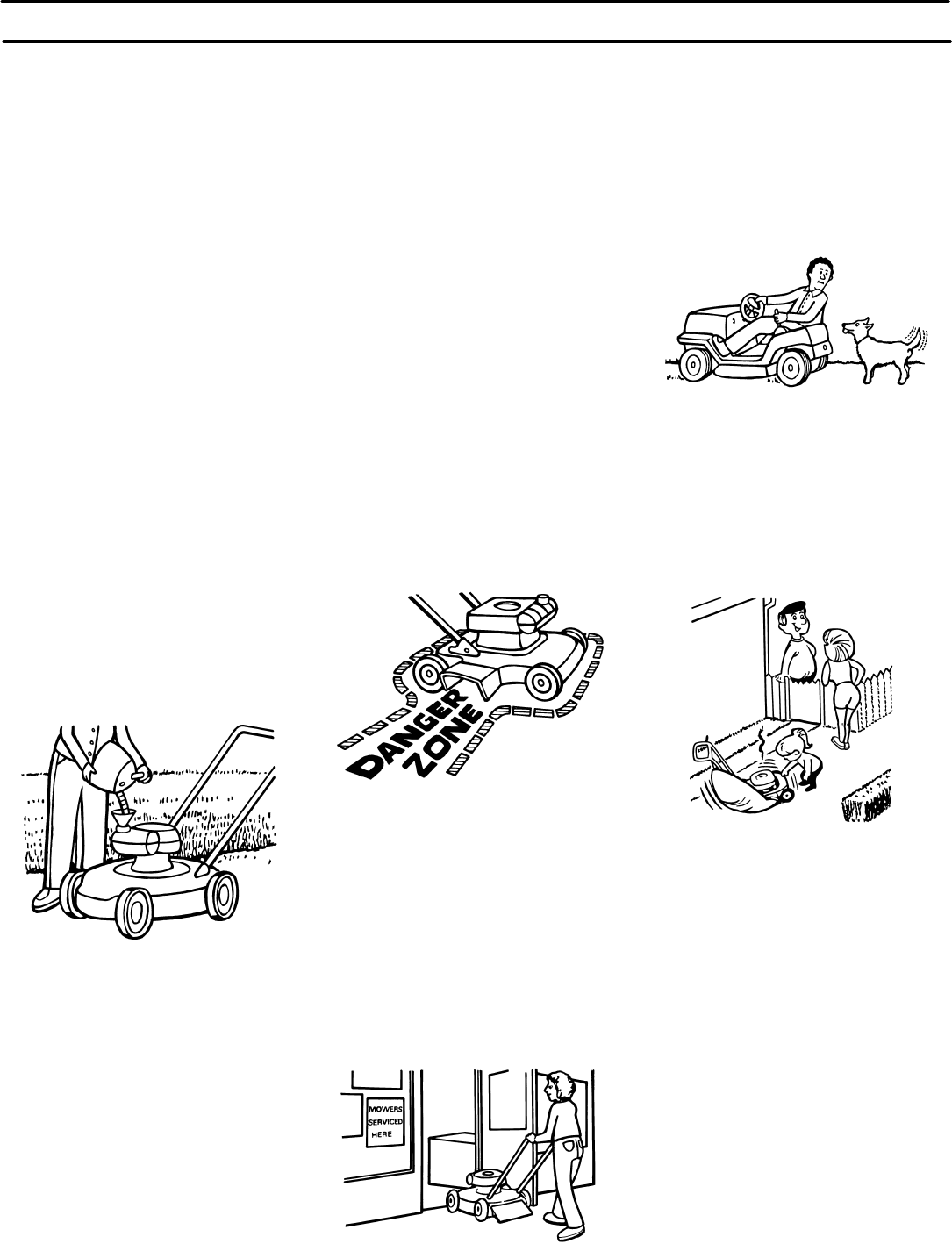 Page 6 of Murray Lawn Mower 425016x48A User Guide