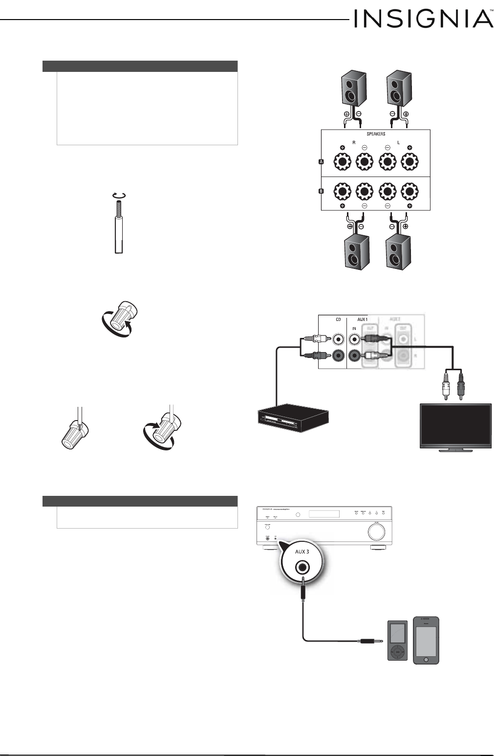 Page 9 of Insignia Stereo Receiver NS-STR514 User Guide