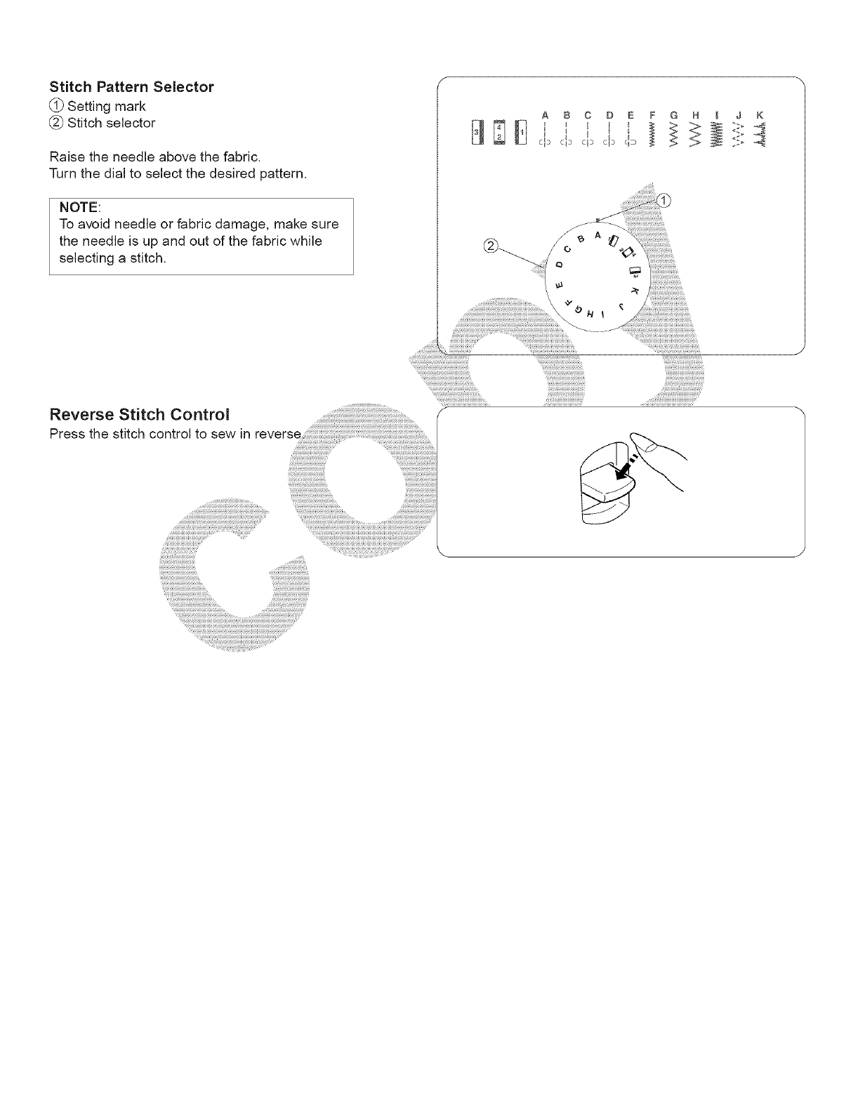 Page 44 of Kenmore Sewing Machine 15243 User Guide