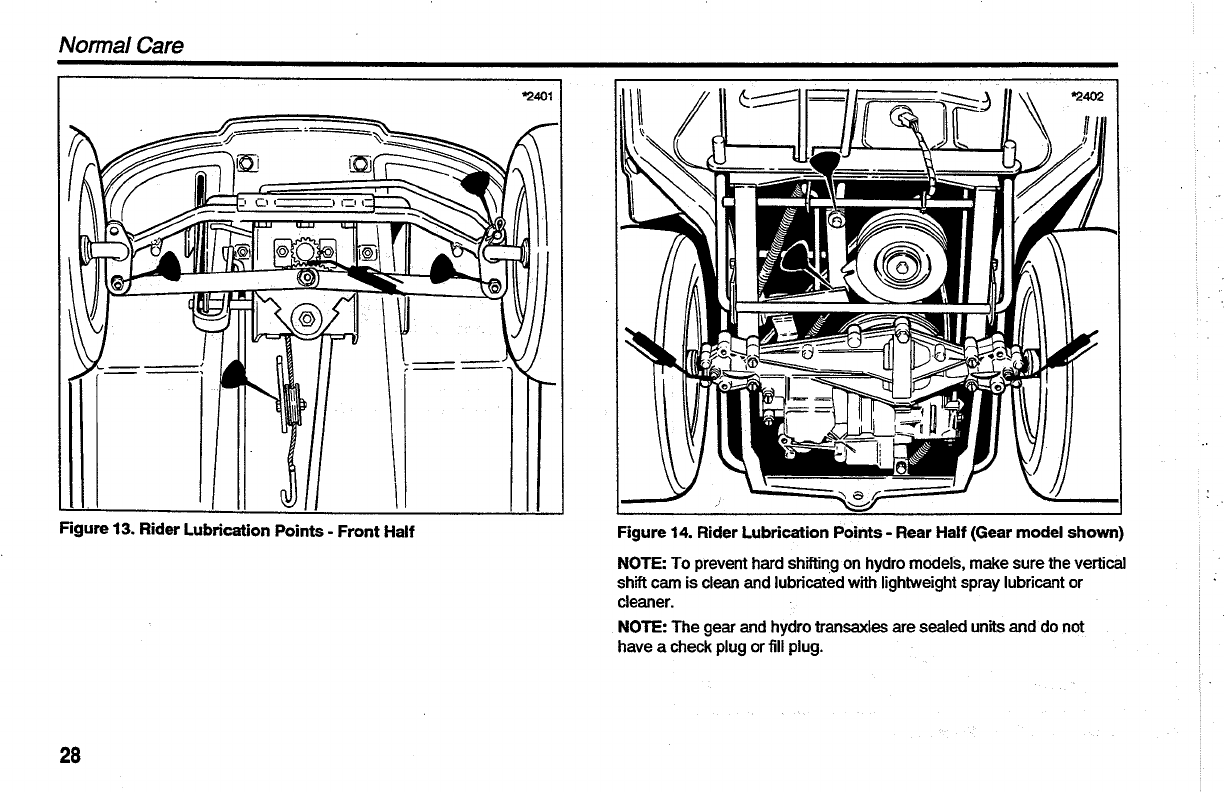 Page 30 of Simplicity Lawn Mower Coronet Series User Guide