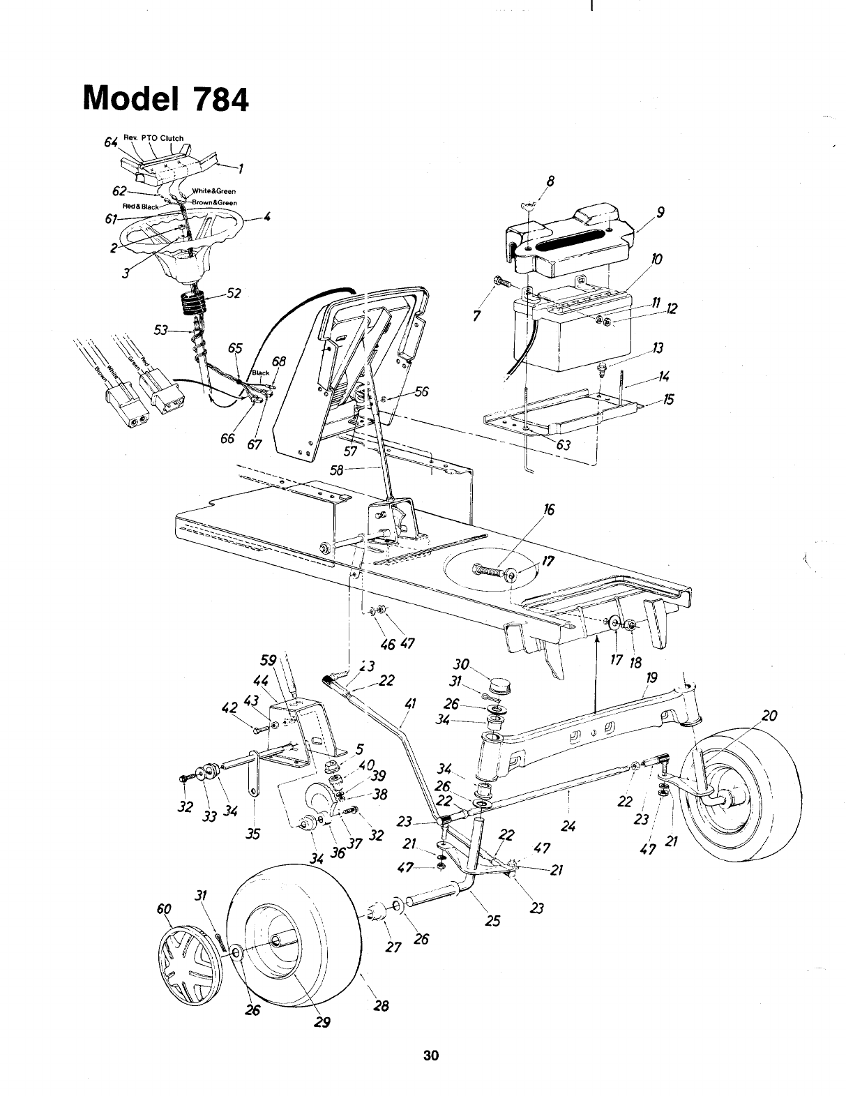 Page 30 of Bolens Lawn Mower 138-784-401 User Guide