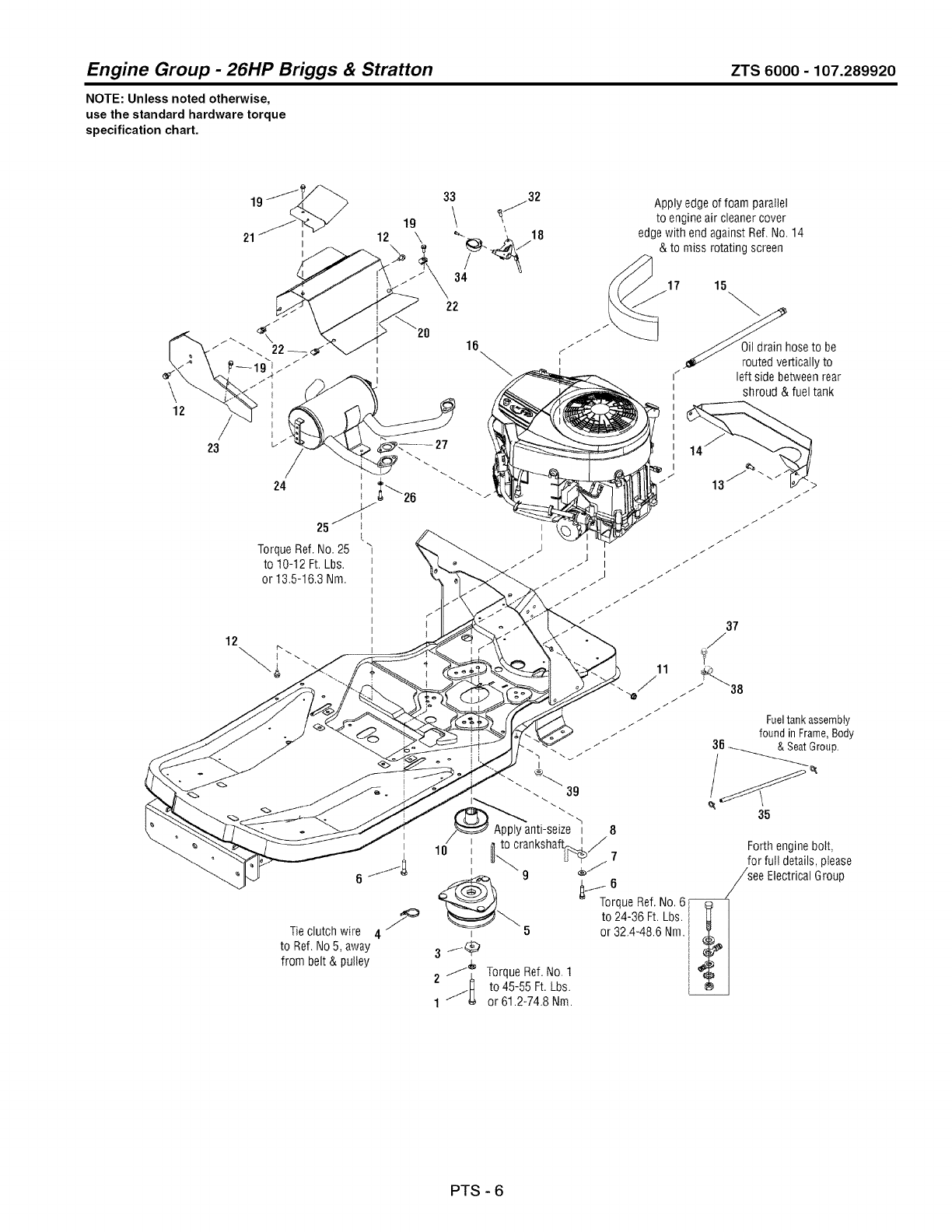 Page 82 of Craftsman Lawn Mower 107.289920 User Guide