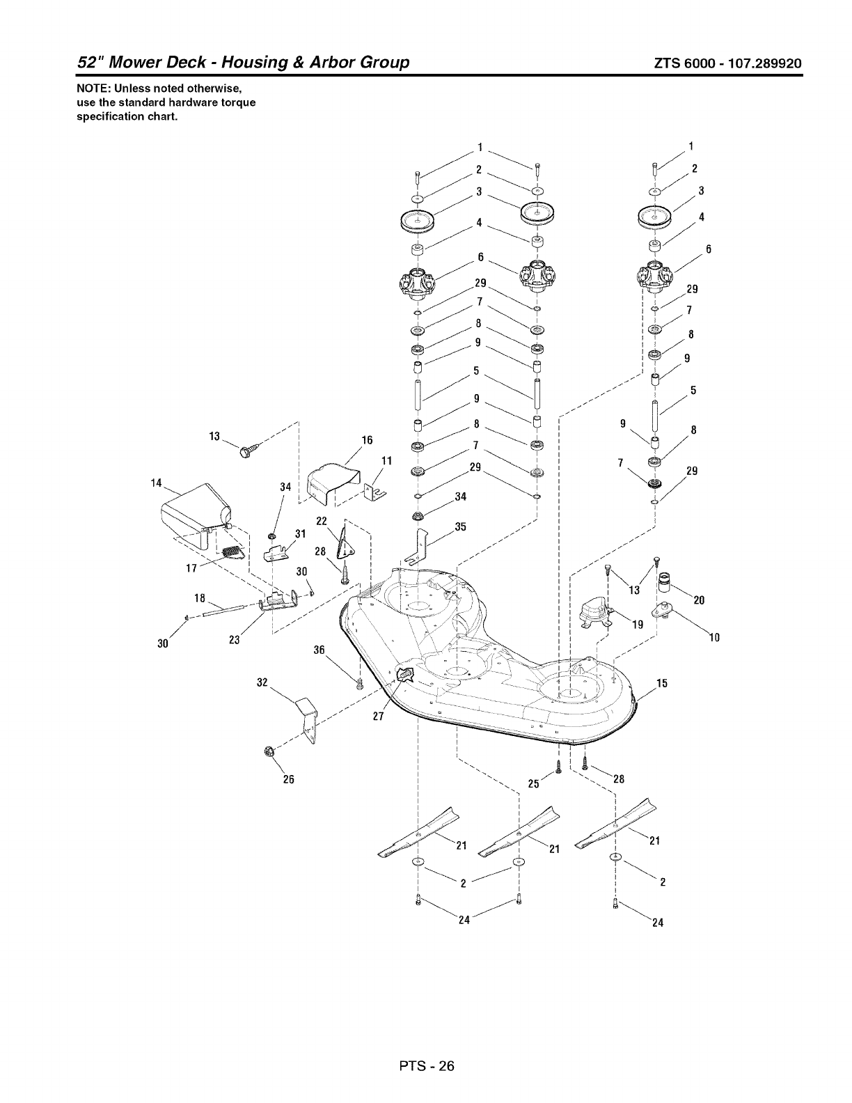 Page 102 of Craftsman Lawn Mower 107.289920 User Guide