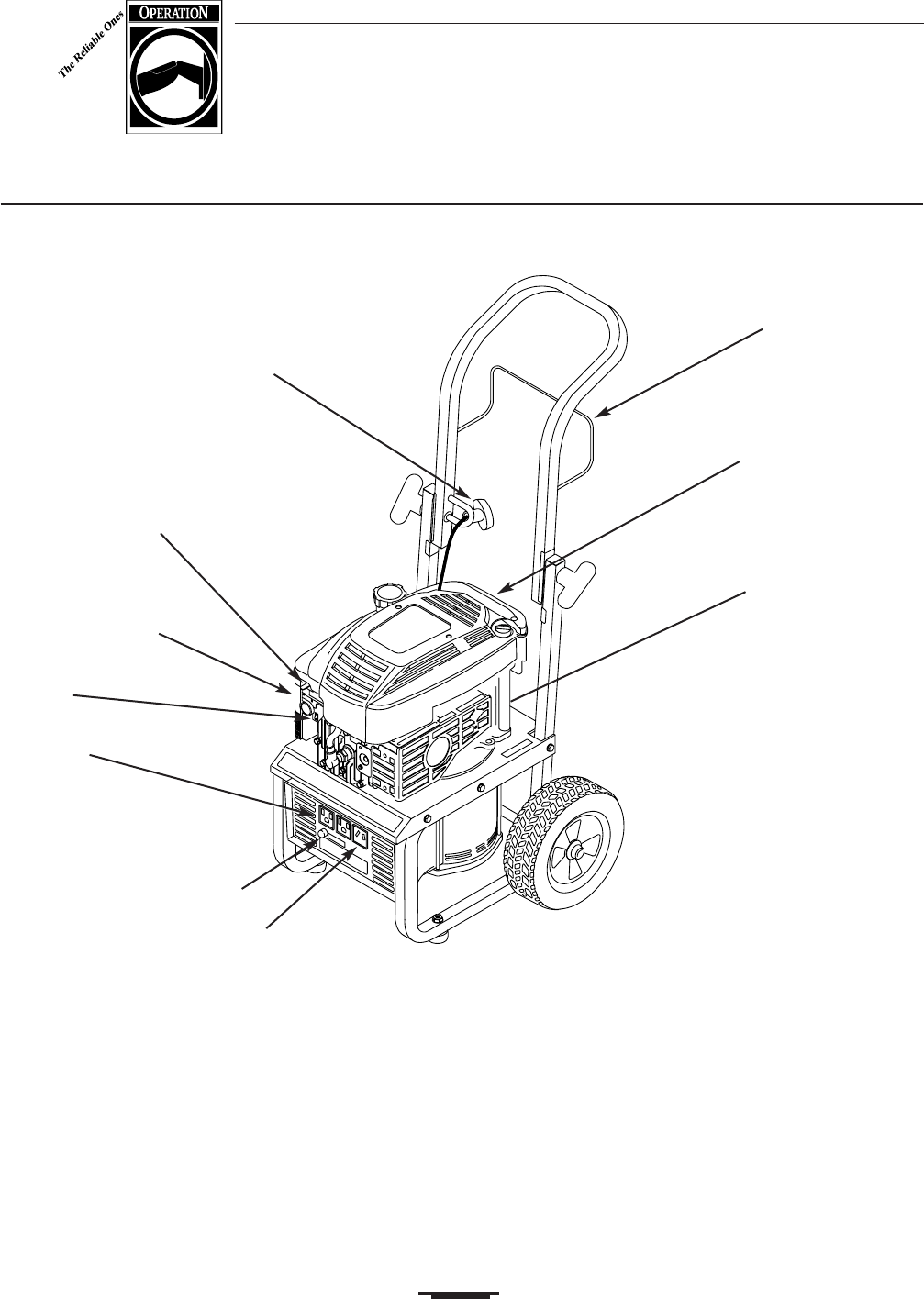 Page 5 of Generac Portable Generator 2500 User Guide