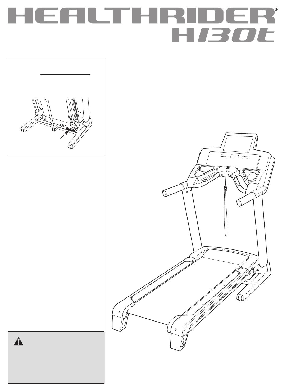 Healthrider Treadmill HMTL79608.0 User Guide