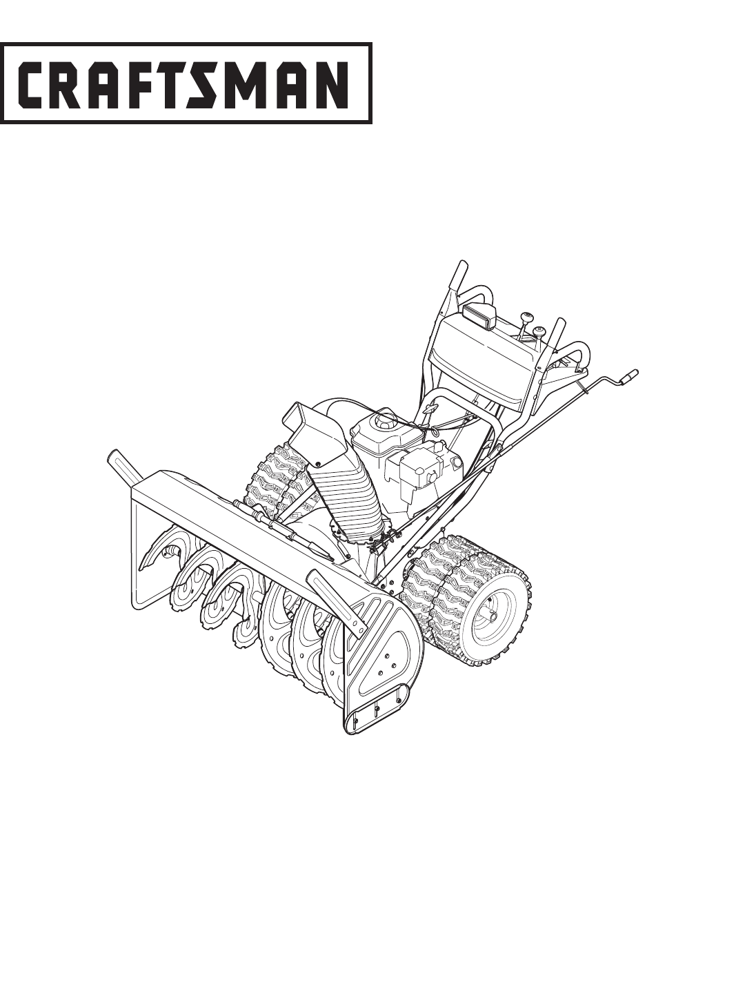 Craftsman Snow Blower C459-52833 User Guide