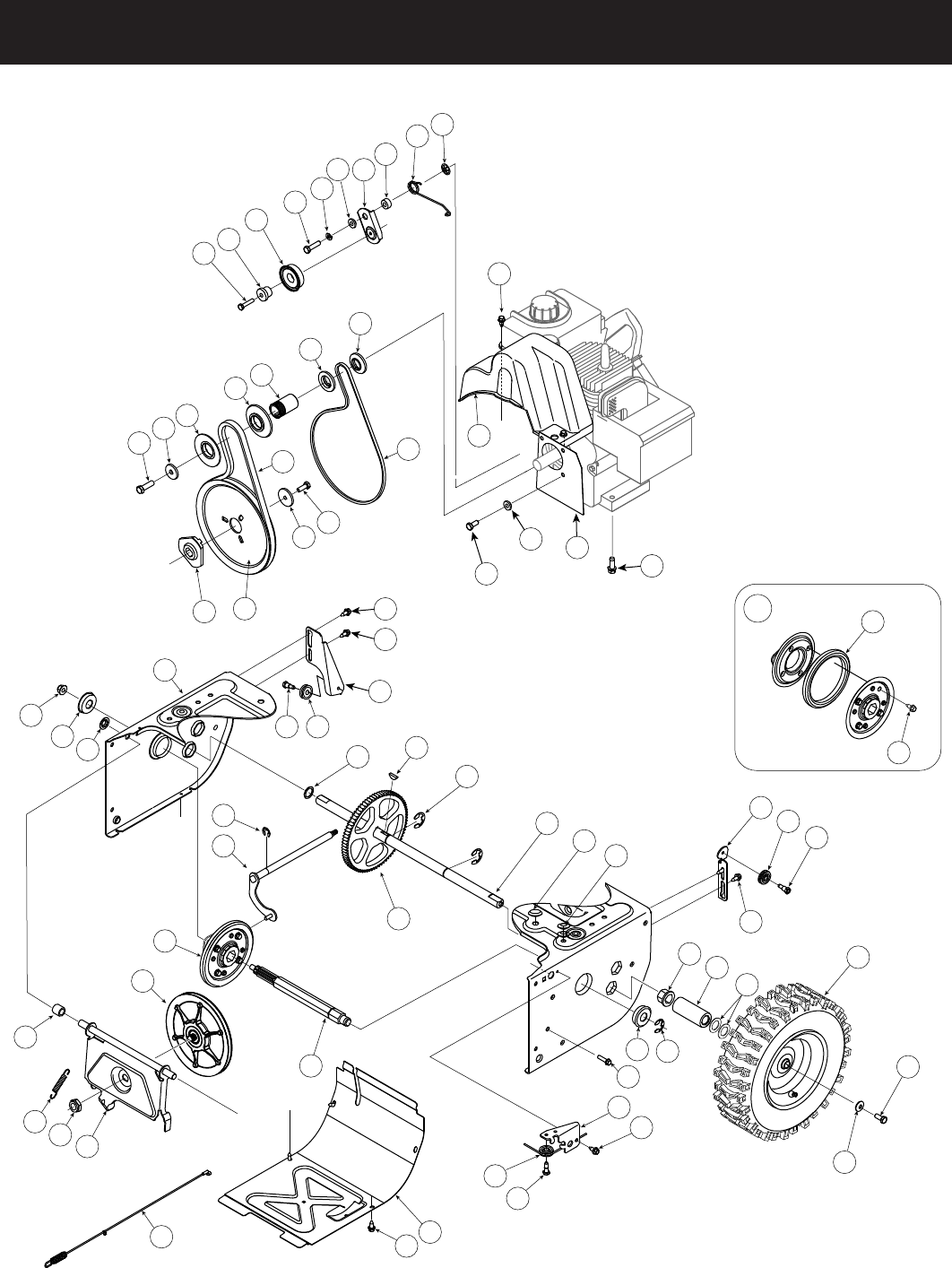 Page 30 of Craftsman Snow Blower 247.88355 User Guide