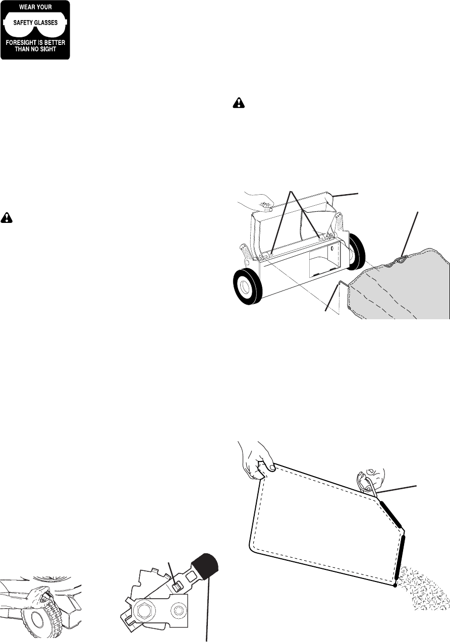 Page 8 of Craftsman Lawn Mower 917.38885 User Guide