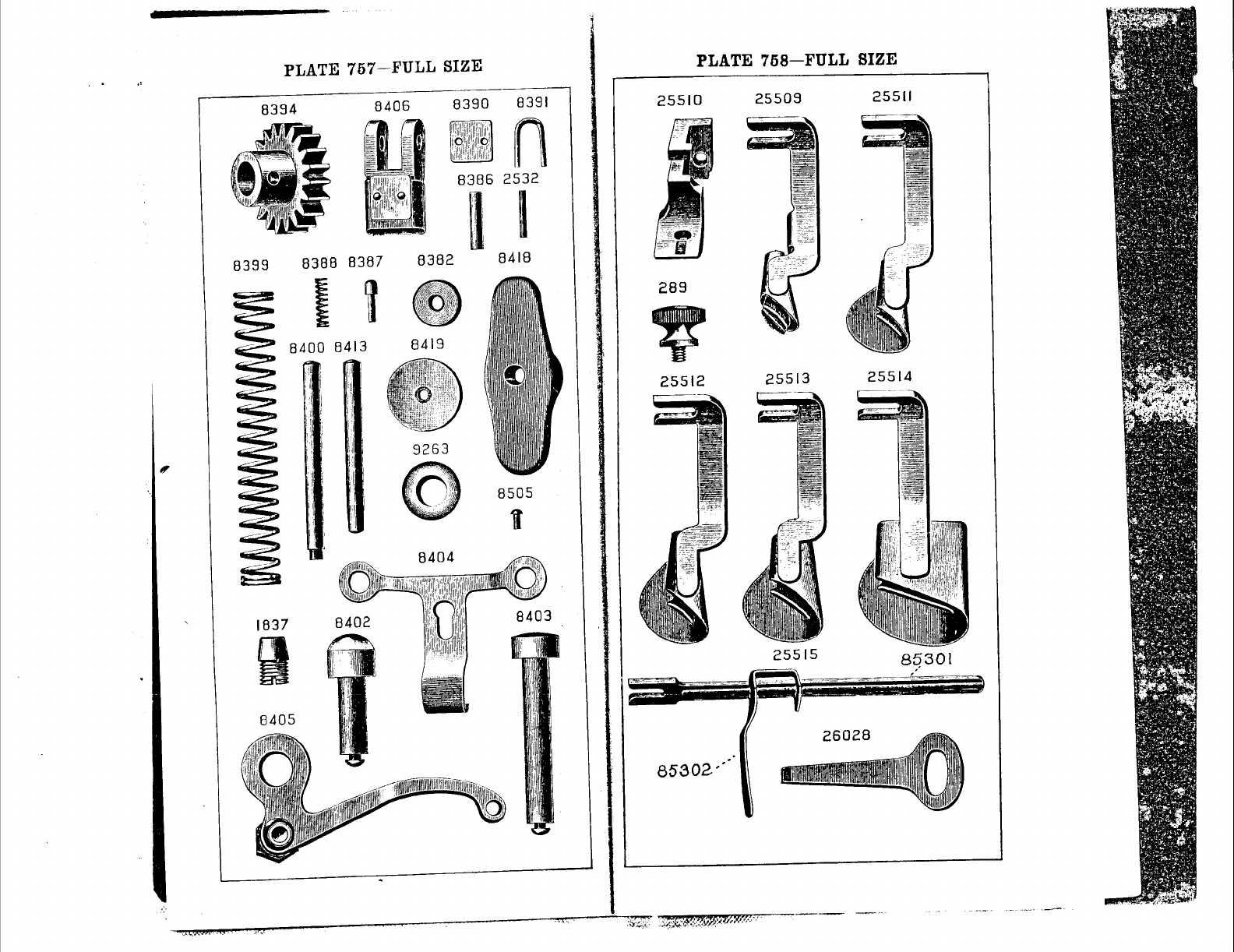 Page 39 of Singer Sewing Machine 128-4 User Guide