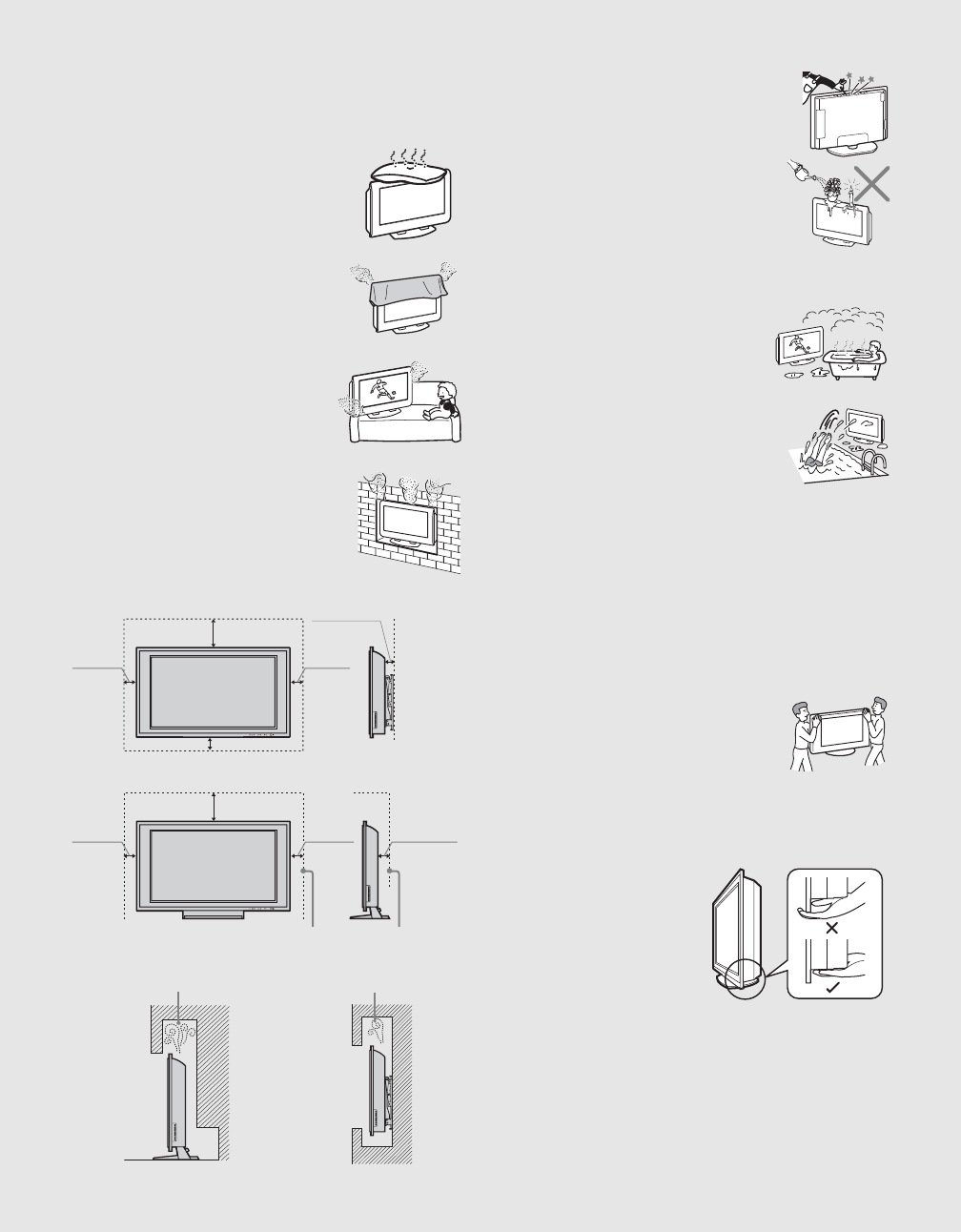 Page 6 of Sony Flat Panel Television KDL-40XBR2 User Guide