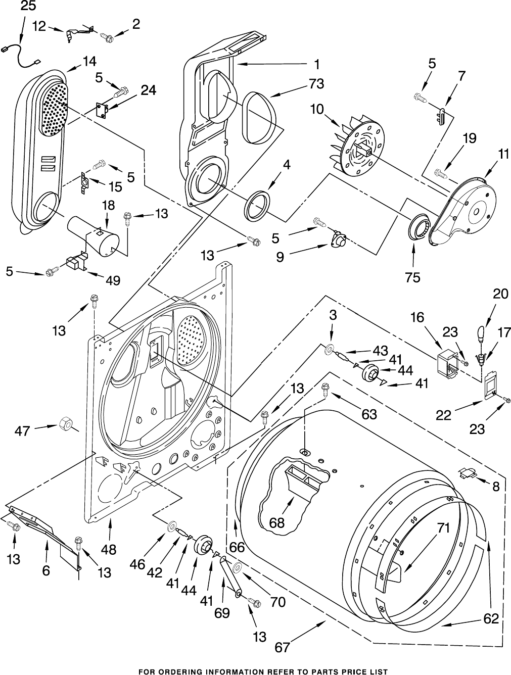 Page 5 of Whirlpool Clothes Dryer WGD5500SQ0 User Guide