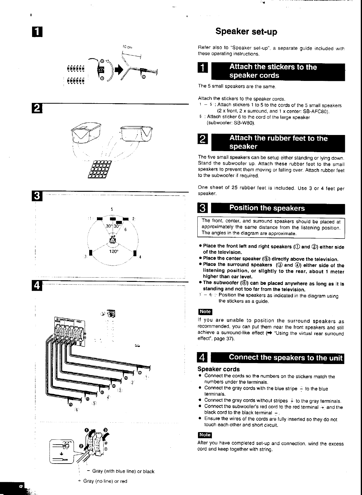 Page 8 of Panasonic Stereo System SC-HT80 User Guide