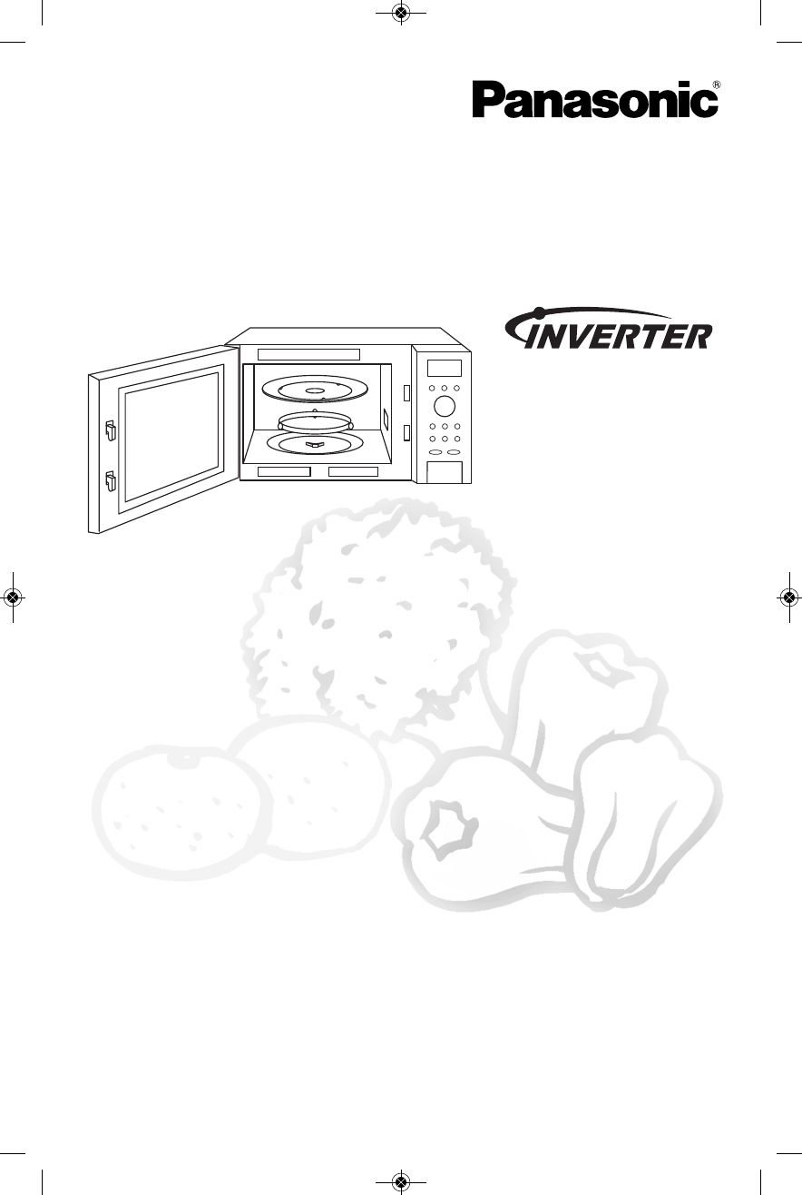 Panasonic Microwave Oven NN-SE792S User Guide