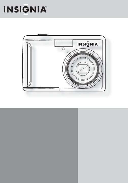 Insignia Digital Camera NS-DSC10B User Guide