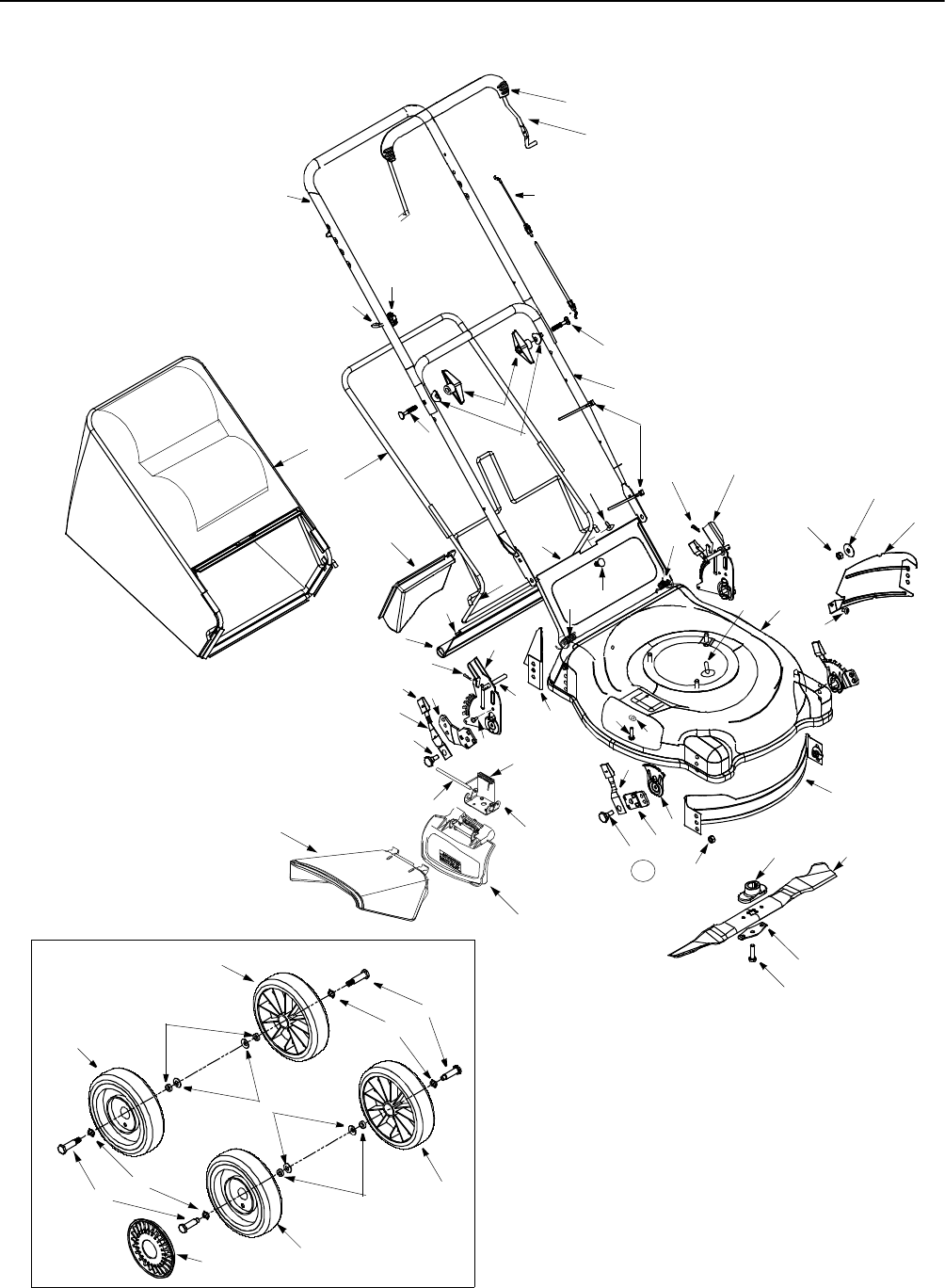 Page 2 of Troy-Bilt Lawn Mower 11A-436N063 User Guide