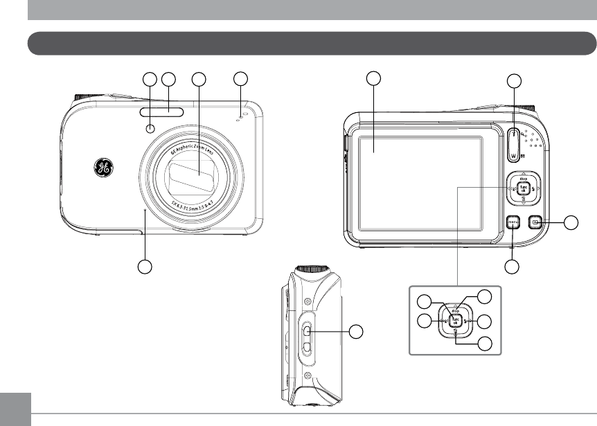 Page 11 of GE Digital Camera A1455RD User Guide