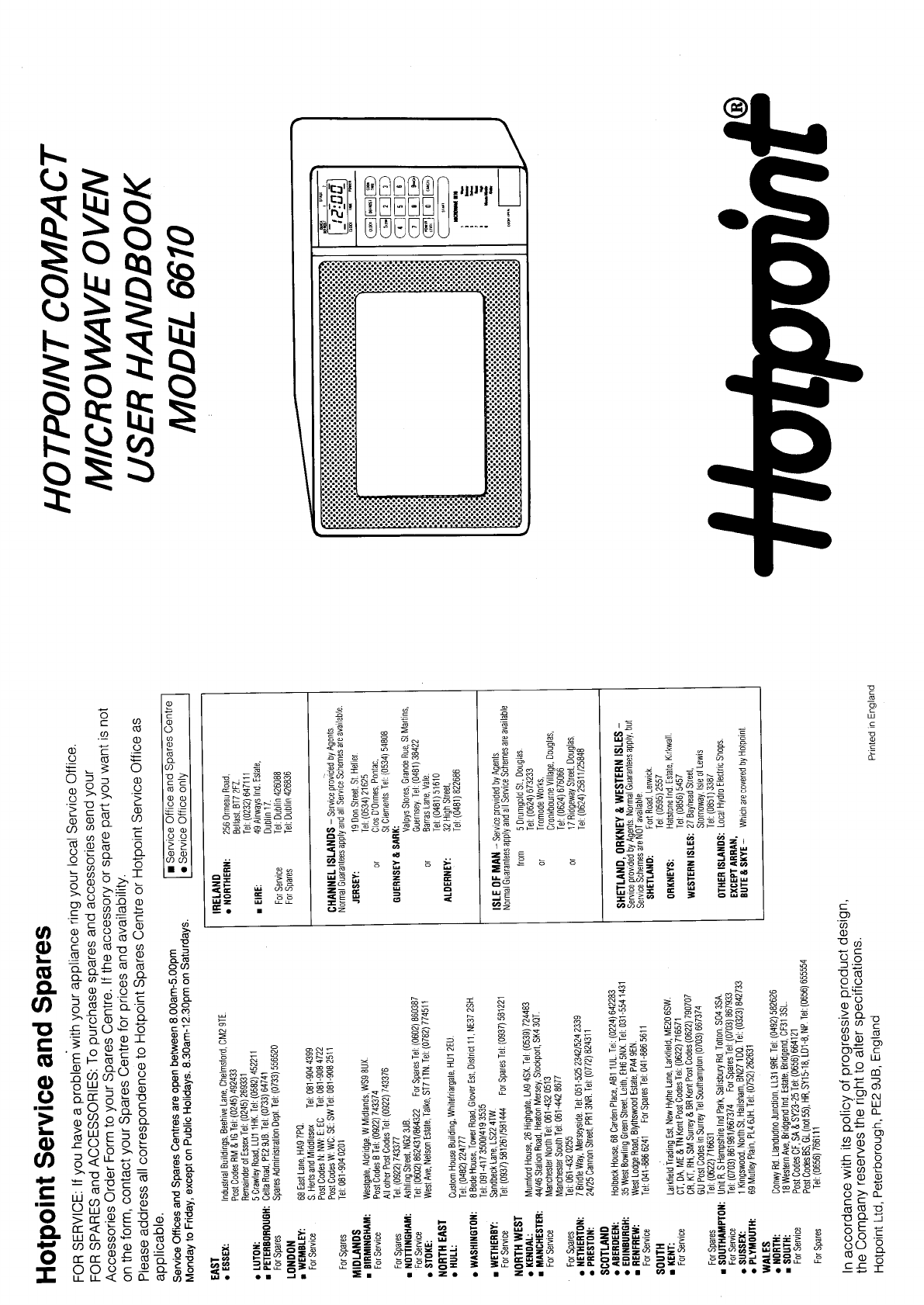Where can you find Hotpoint user manuals