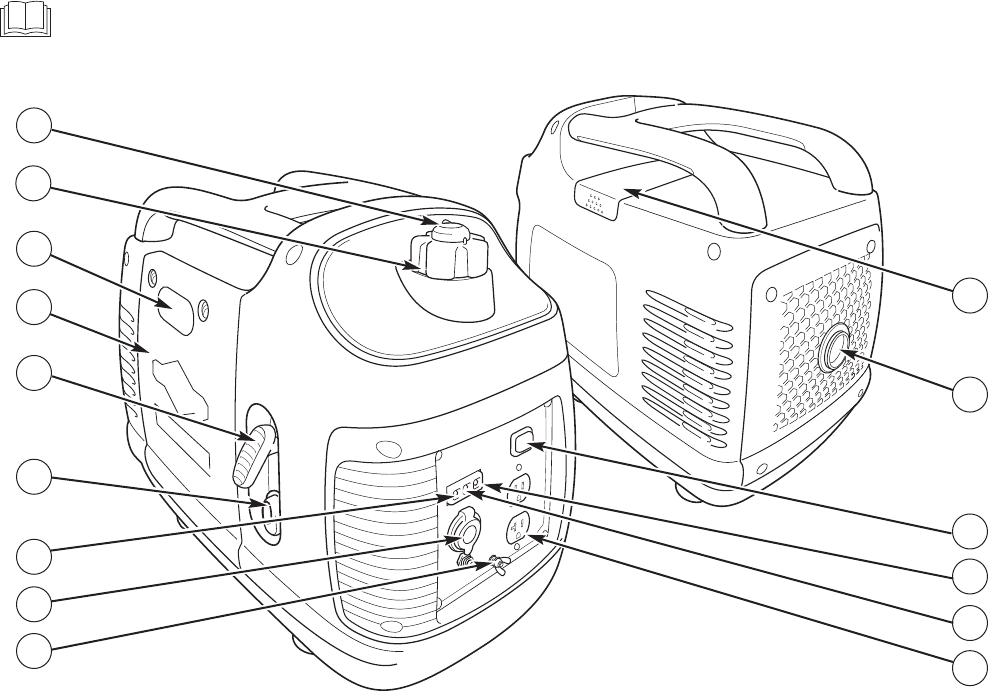 Page 9 of Briggs & Stratton Portable Generator P2000 User