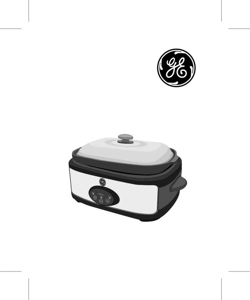 Ge Slow Cooker 169143 User Guide