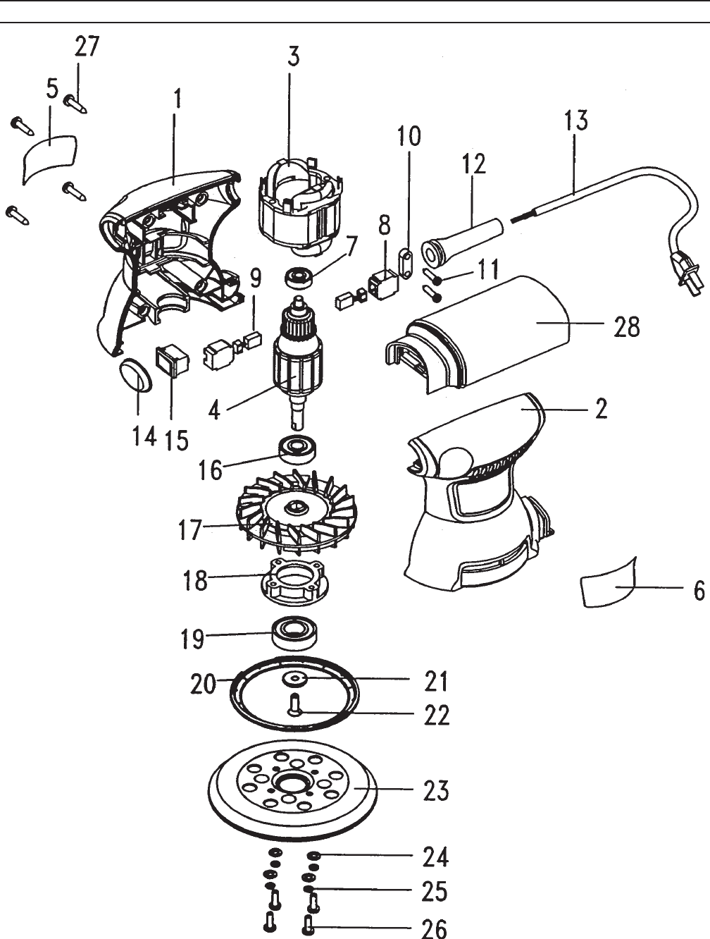 Page 15 of Chicago Electric Sander 93431 User Guide