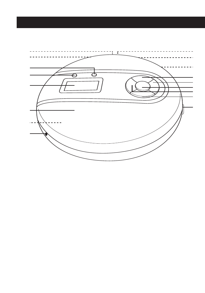 Page 5 of Memorex CD Player MD6443 User Guide