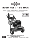Free Briggs & Stratton Pressure Washer User Manuals