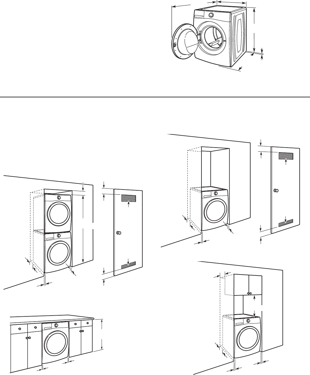 Page 3 of Whirlpool Washer W10254447B User Guide