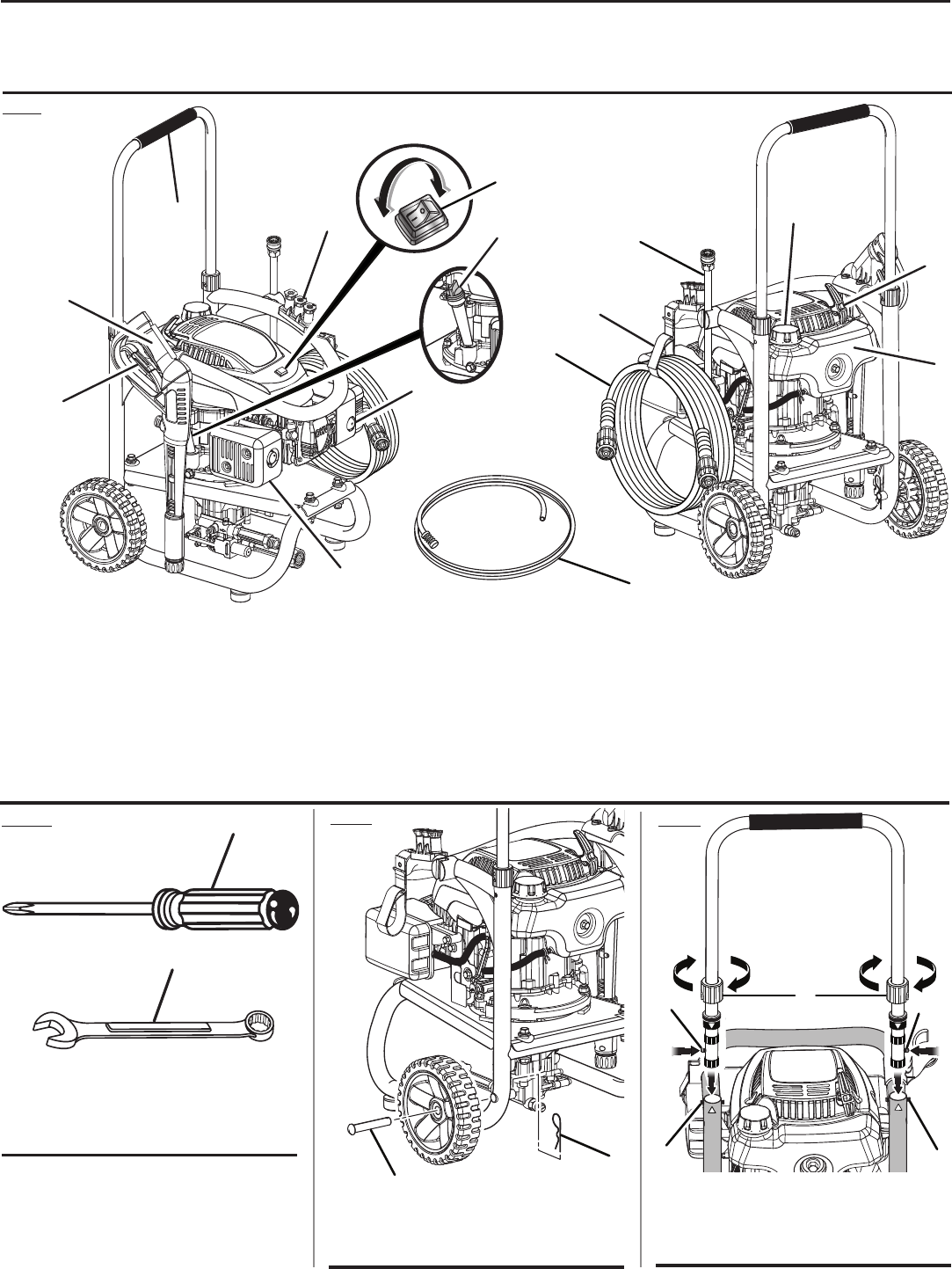 Page 2 of Homelite Pressure Washer UT80516 User Guide