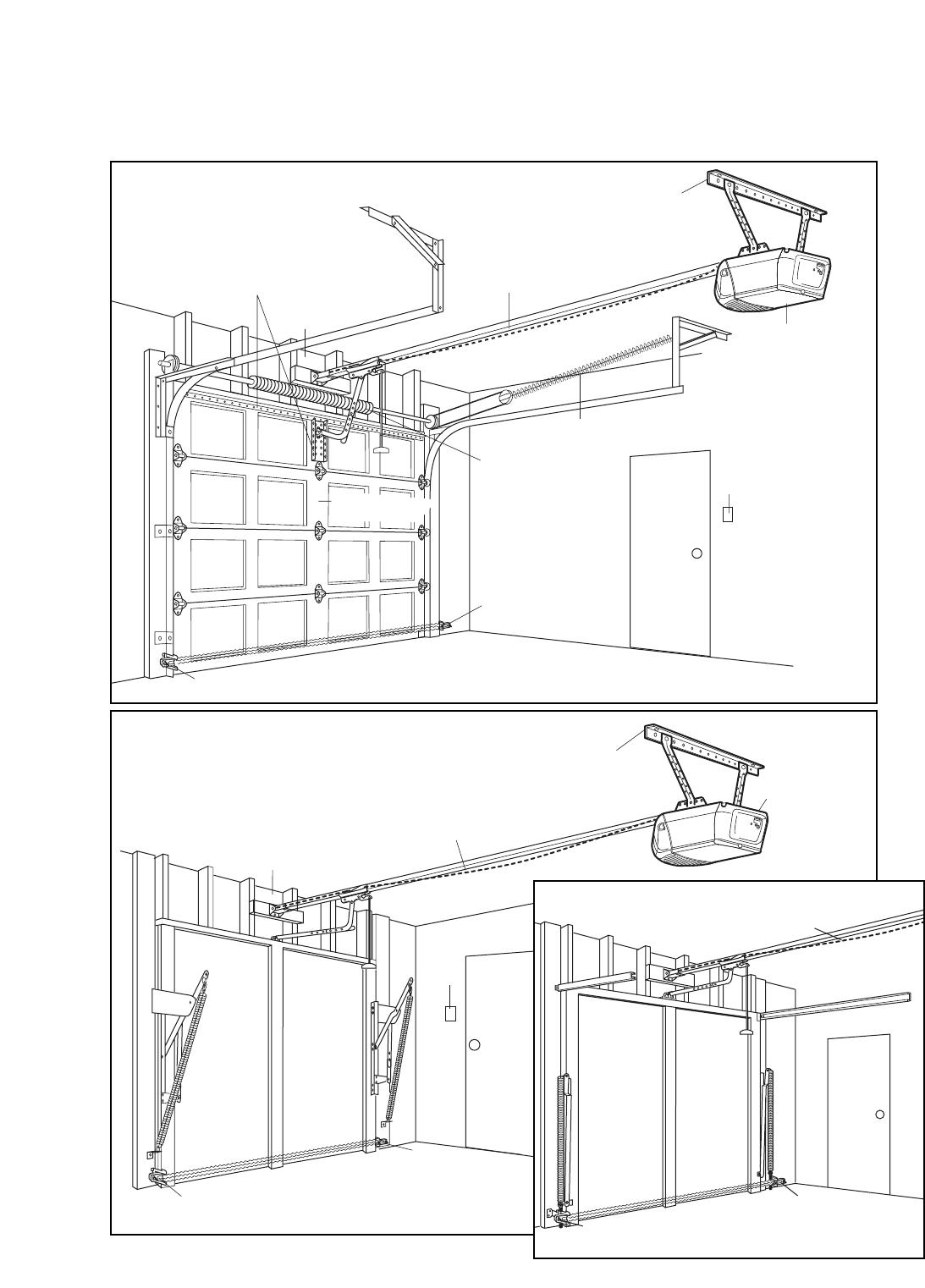 Page 4 of Chamberlain Garage Door Opener 3255 1/2 HP User