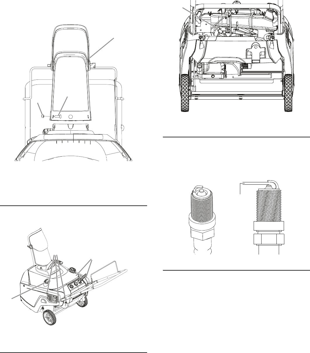 Page 14 of Poulan Snow Blower PR521 User Guide