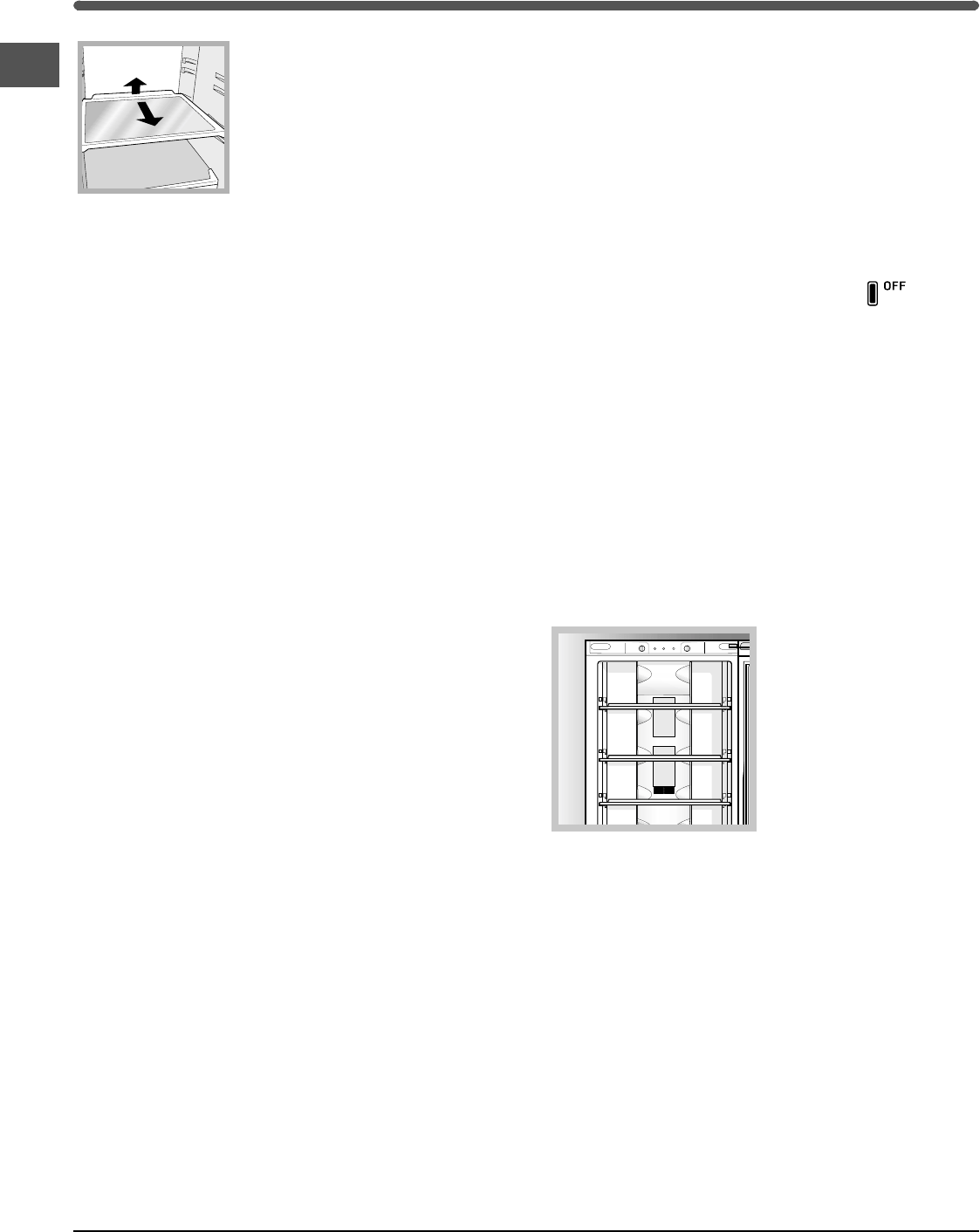 Page 6 of Hotpoint Refrigerator FF200E User Guide
