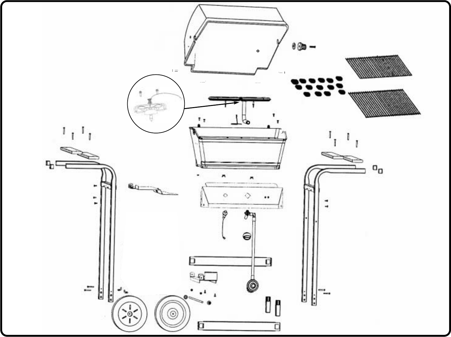 Page 3 of Sunbeam Gas Grill WT4150H User Guide
