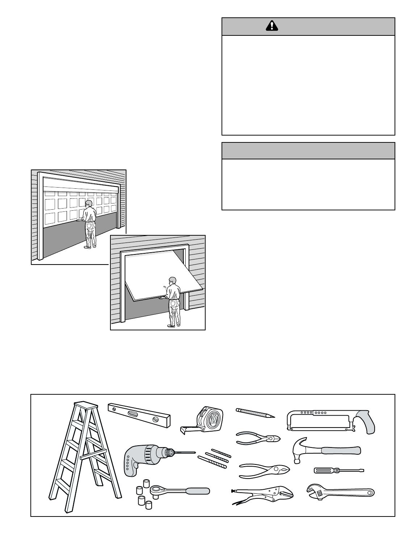 Page 3 of Sears Garage Door Opener 139.53973SRT User Guide