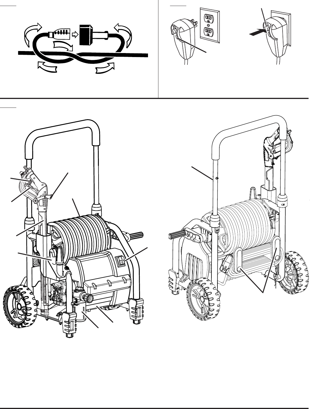 Page 3 of Homelite Pressure Washer UT80720 User Guide