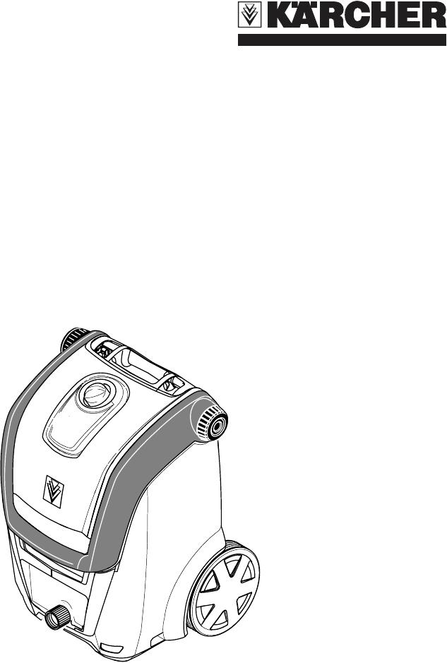 Karcher Pressure Washer K 3.96 M User Guide
