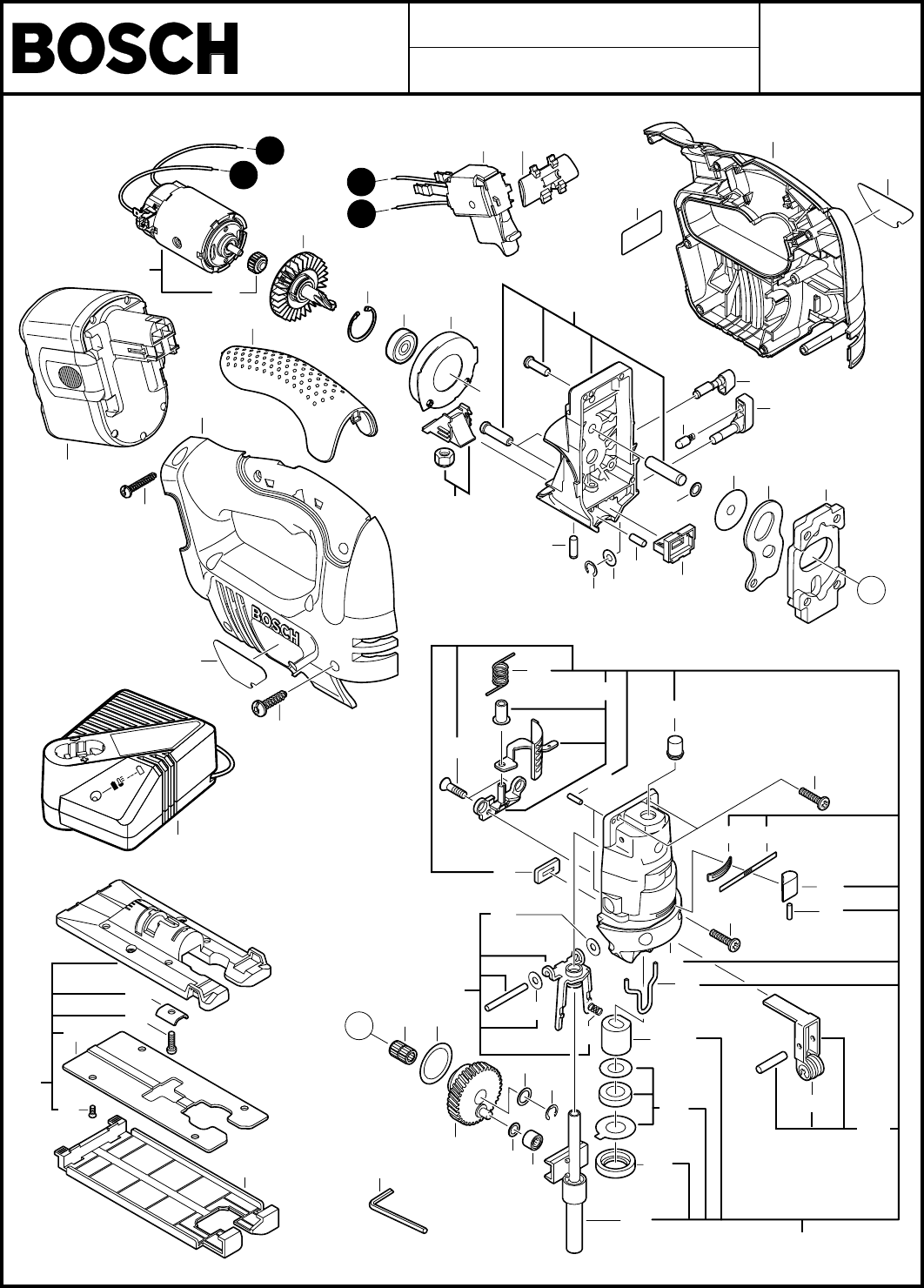 Bosch Power Tools Saw 0601598260 User Guide