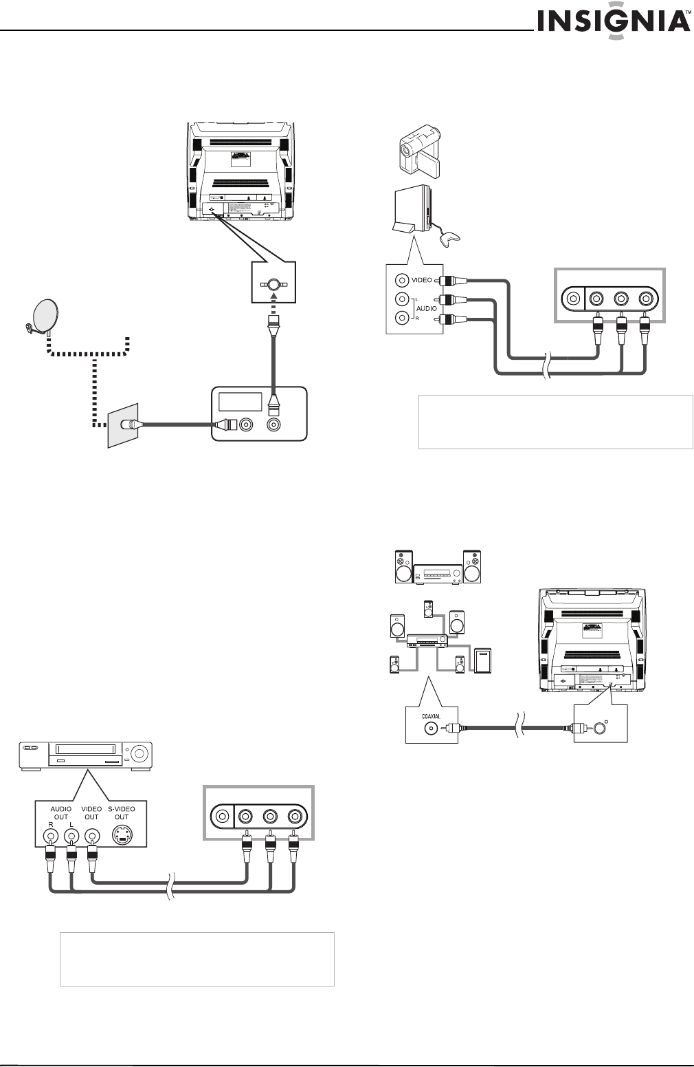 Page 45 of Insignia TV VCR Combo NS-R27TR User Guide