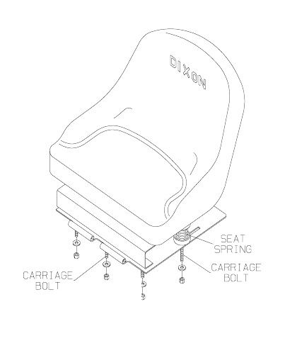 Page 16 of Dixon Lawn Mower 13086-0601 User Guide