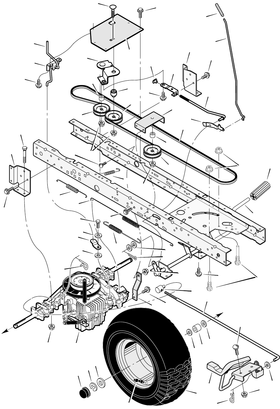 Page 38 of Murray Lawn Mower 425620x92B User Guide