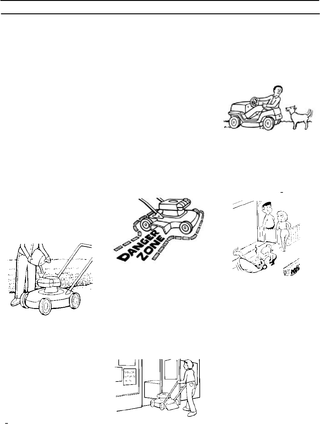 Page 6 of Rover Lawn Mower 385002X108A User Guide