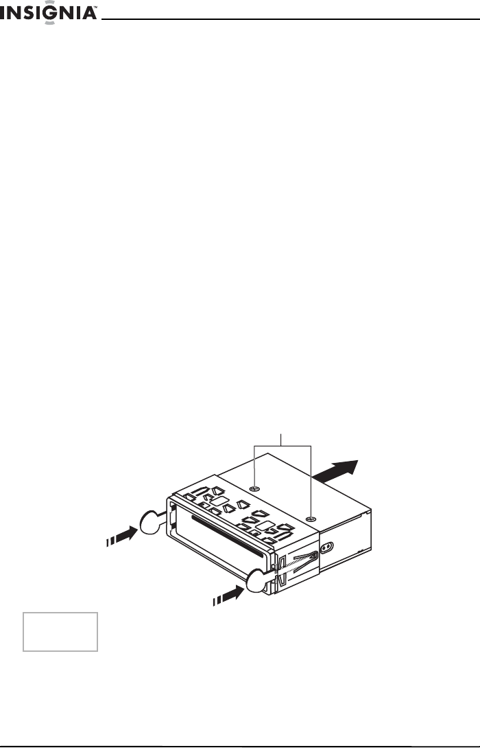 Page 5 of Insignia Car Stereo System NS-C3111 User Guide