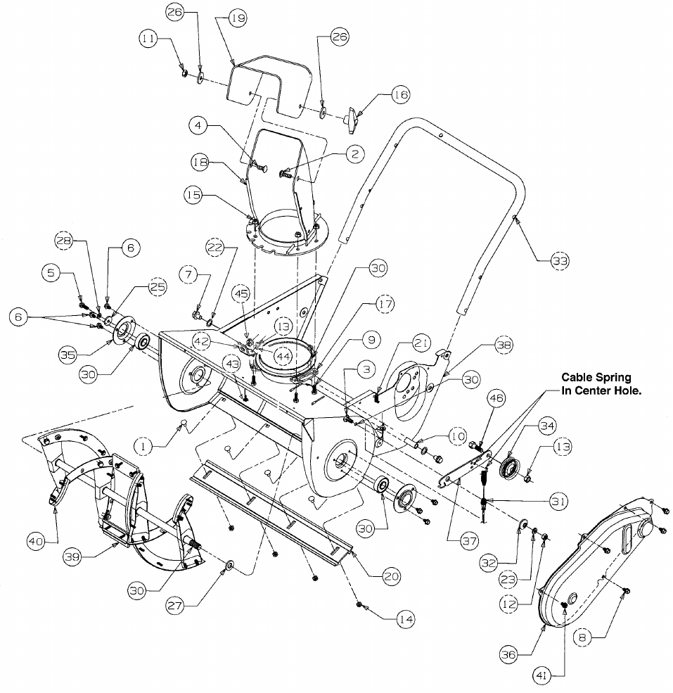 Page 16 of Yard Machines Snow Blower 140 User Guide