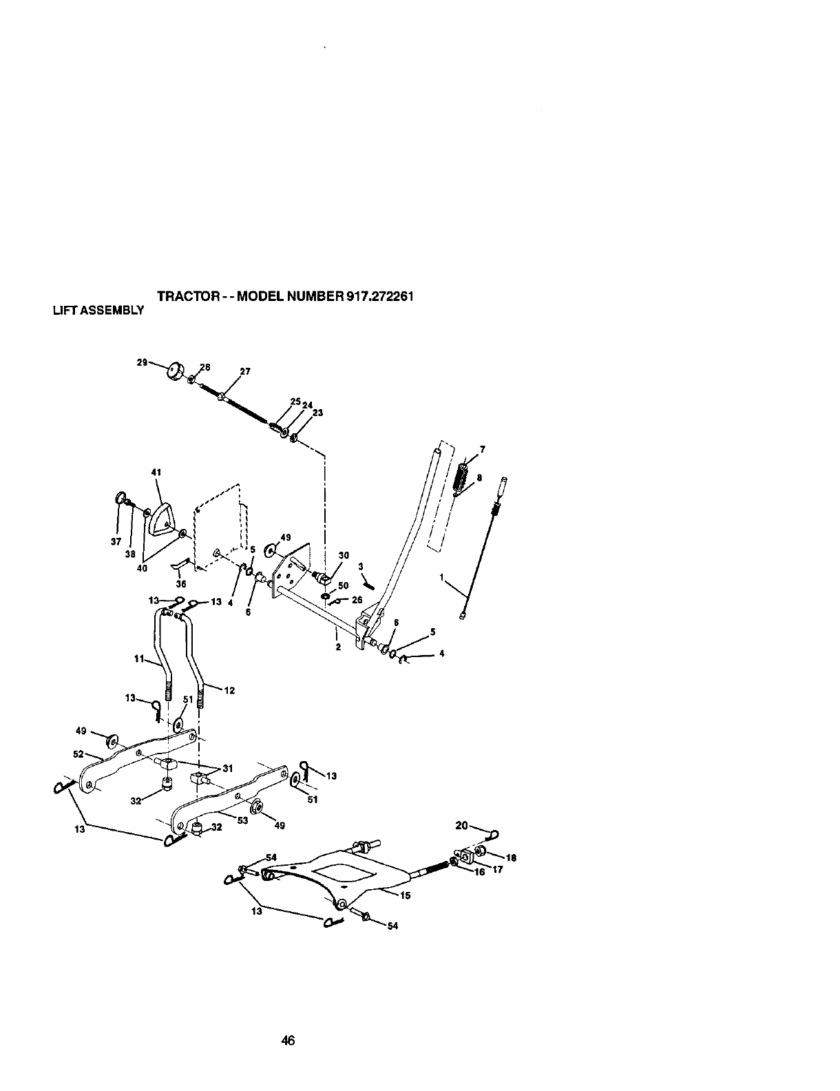 Page 46 of Craftsman Lawn Mower 917272261 User Guide