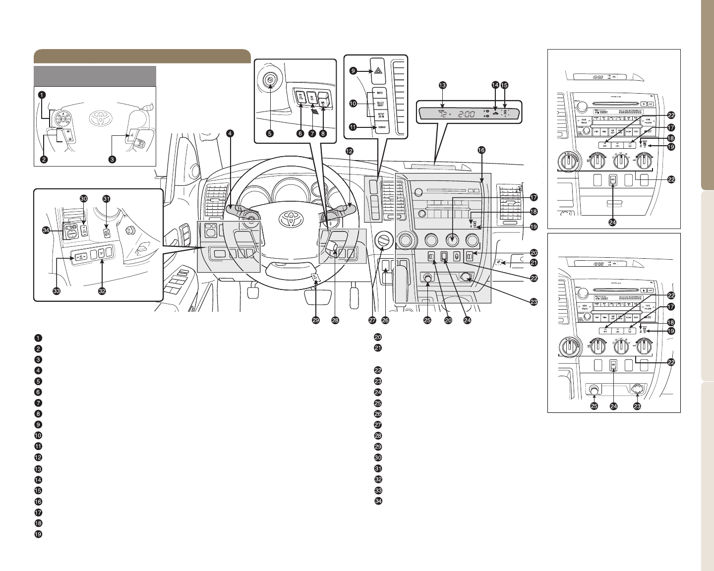 Page 4 of Toyota Automobile 2009 Tundra User Guide