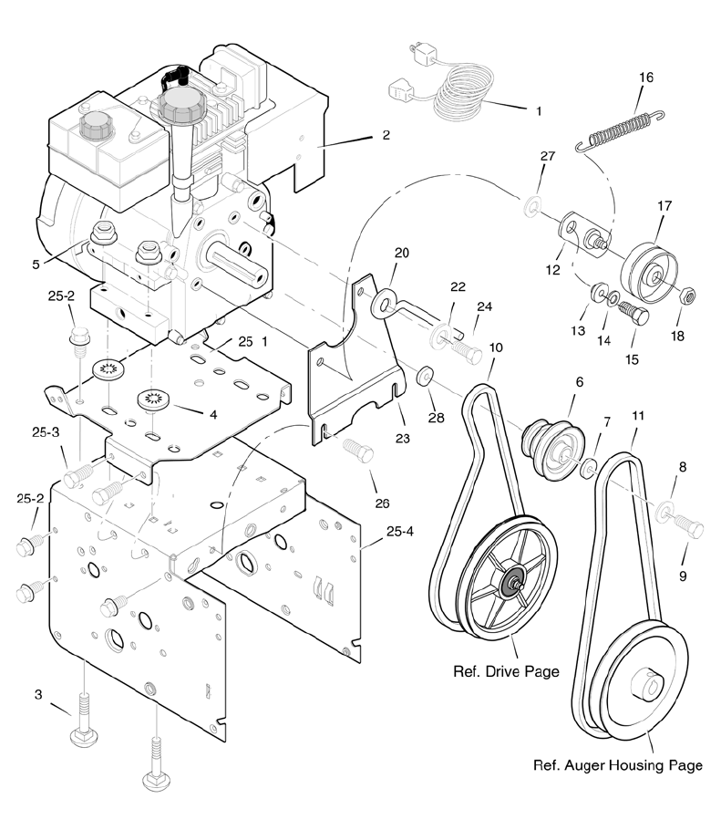 Page 50 of Poulan Snow Blower 96194000300 User Guide