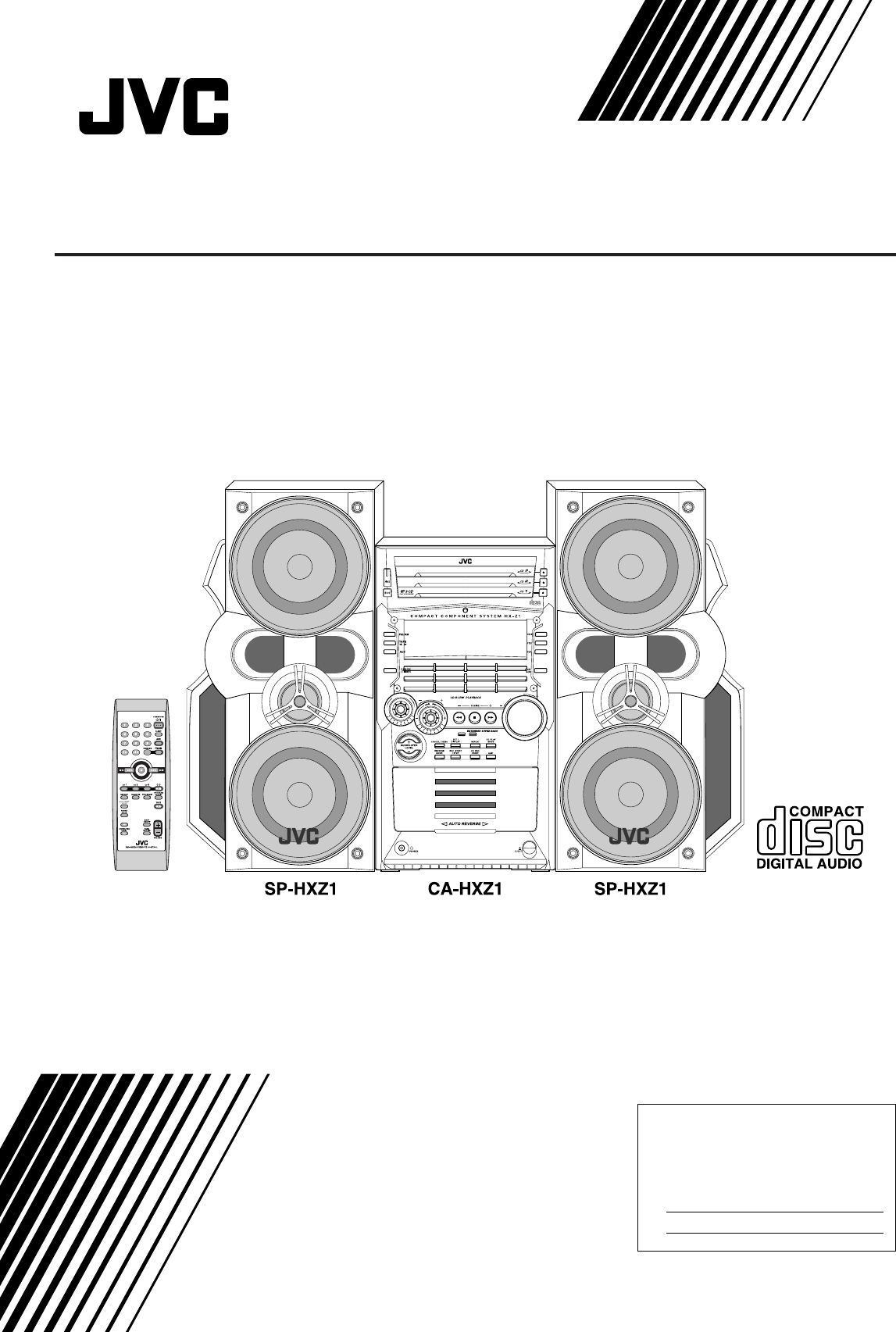 Page 36 of JVC Stereo System HX-Z1 User Guide