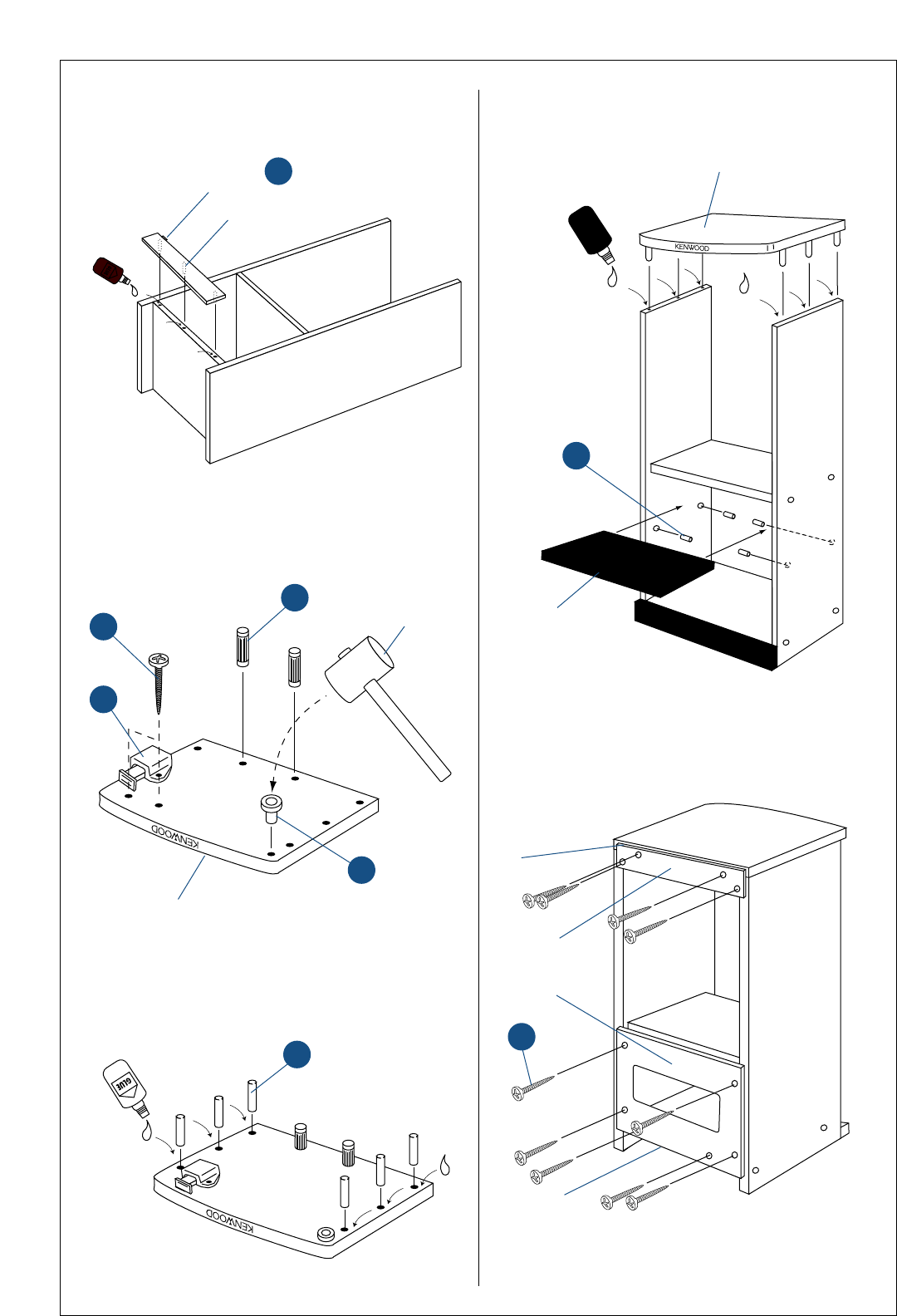 Page 8 of Kenwood Stereo System 350 User Guide