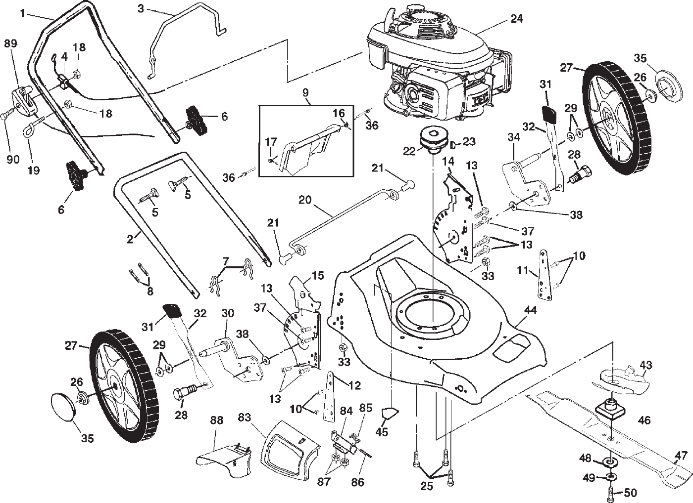 lawn mower ignition switch diagram 85 chevy truck wiring gmc jimmy ford f150 page 2 of electrolux 5553sd (pm5553hw3a) user guide | manualsonline.com